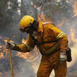 Extremadura se encuentra por encima de la media nacionl en nivel de riesgo medio de incendios forestales
