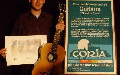 El XIII Festival Internacional de Guitarra de Coria reunirá del 3 al 10 de agosto a los mejores intérpretes