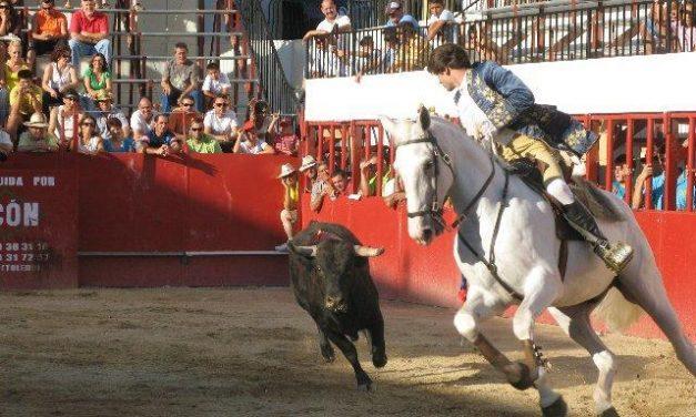 Mala tarde de rejones en las fiestas de Moraleja con Sergio Vegas y Joao Ribeiro y ganado de Antonio Román
