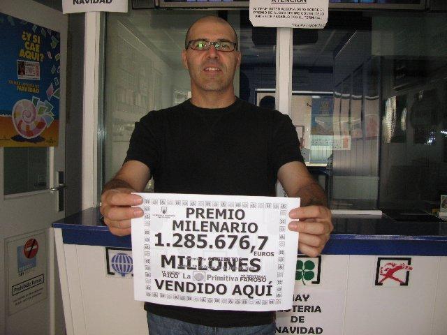 La administración de loterías de Moraleja valida un boleto premiado con 1,2 millones de euros de la lotería Primitiva