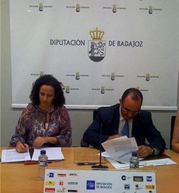 La Junta y la Diputación de Badajoz firman convenios para desarrollar políticas activas de empleo
