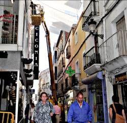 La instalación de cámaras en la calles Pintores de Cáceres  está pendiente de la respuesta del Gobierno
