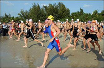 El Campeonato de España de Triatlón Cross se celebra el domingo en Zarza de Granadilla