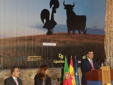 Fernández Vara  invita a Alentejo y a Región Centro de Portugal al trabajar juntos en proyectos europeos