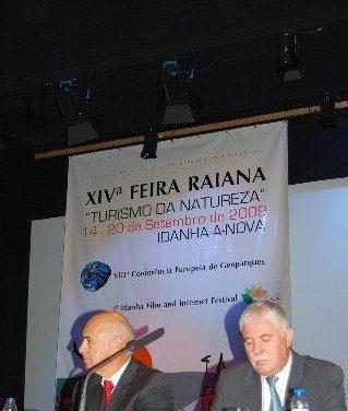 Extremadura pide a Portugal que apueste por el AVE en la inauguración de la XIV edición de la Feria Rayana