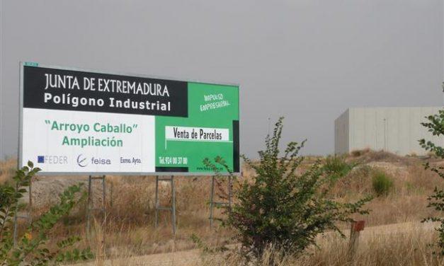 El Polígono Arroyo Caballo de Trujillo se ampliará con la urbanización de otras 25 hectáreas para empresas