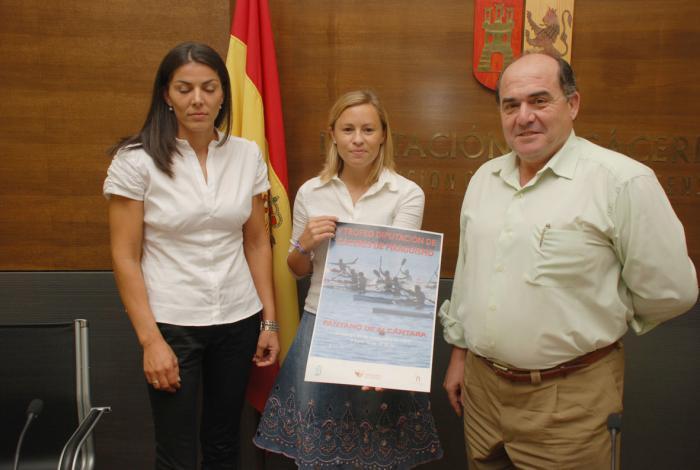 Más de 300 palistas participarán este domingo en el V Trofeo Diputación de Cáceres de Piragüismo
