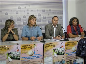 """El programa """"Deporte y Mujer"""" será el 3 de octubre en Mérida con el lema """"Este año cambia: haz deporte"""""""