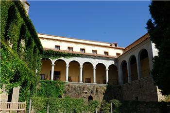 El Monasterio de Yuste alberga la mayor colonia reproductora del murciélago herradura de España