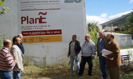 Marchagaz invierte 46.194 euros en la sustitución de la cubierta del salón social con cargo al Plan E