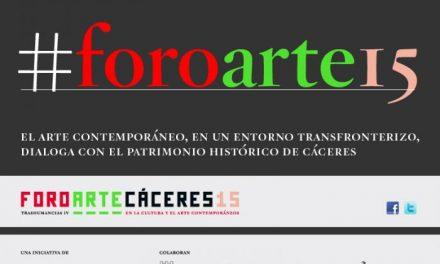Pintura, coleccionismo y periferias centrarán los debates de Foro Arte Cáceres 15