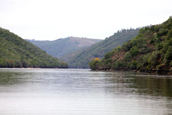 El paisaje extremeño  recibe al turista en otoño con un deslumbrante manto dorado