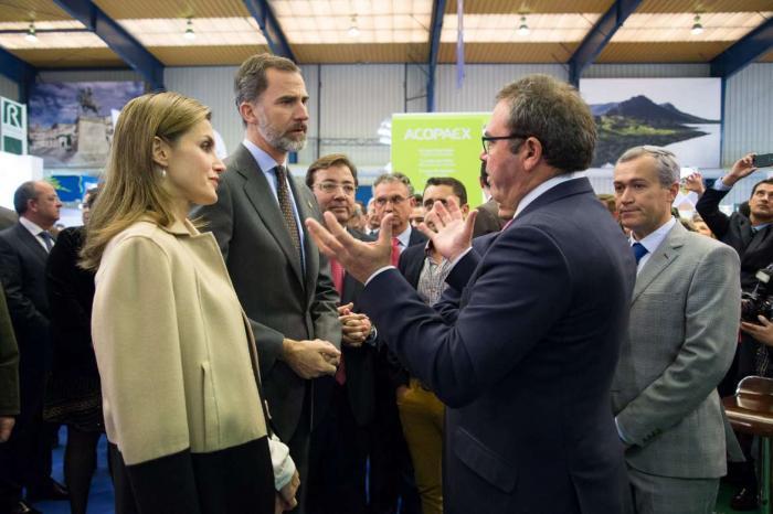 Los Reyes Don Felipe y Doña Letizia inauguran en Don Benito la vigésimo novena edición de Agroexpo