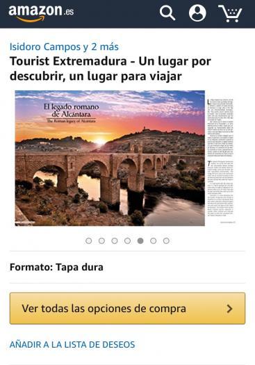 Las ediciones de Extremadura y Asturias del libro de lujo Tourist ya están disponibles en Amazon