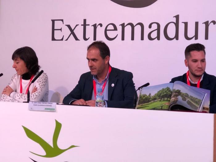 Herrero destaca en FITUR que continúan trabajando para que San Buenaventura sea Fiesta de Interés Turístico Regional