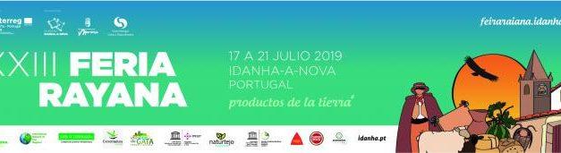 La FAO  impulsa la XXIII Feria Rayana que acogerá Idanha-a-Nova del 17 al 21 de julio