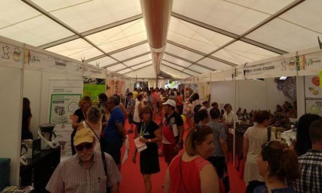Comienza la Feria Rayana con la presencia de más de 150 expositores de Extremadura y Portugal