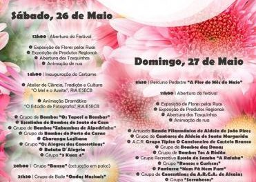 Más de 100.000 flores elaboradas a mano se repartirán este fin de semana en la aldea lusa de Santa Margarida