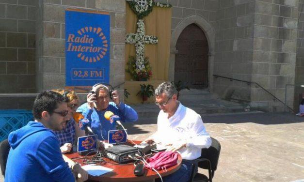 Radio Interior emite  «El Mejor Día de la Semana» desde Las Cruces de Valencia de Alcántara