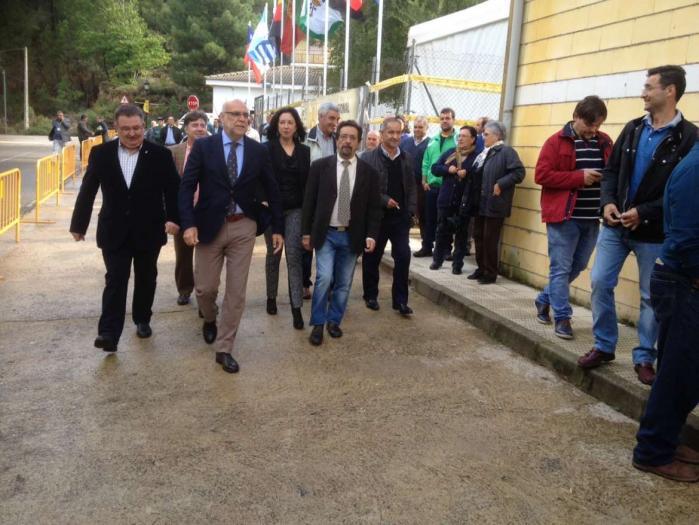 Echávarri inaugura la Feria de Apicultura de Las Hurdes donde destaca el liderazgo de Extremadura en el sector de la miel
