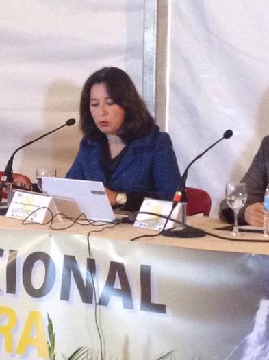 La directora general de la PAC destaca las ayudas que actualmente existen para el sector apícola