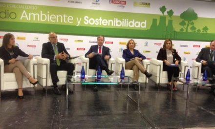 El consejero Echávarri difunde en Madrid la política ambiental del Gobierno de Extremadura