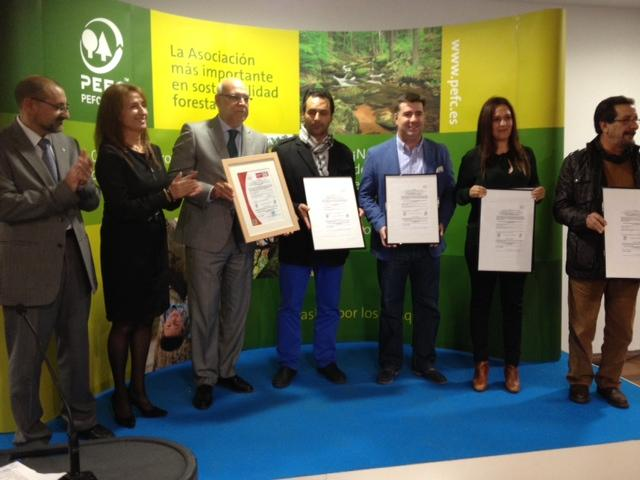 Medio Ambiente recibe la certificación forestal de 34.000 hectáreas de monte público de Las Hurdes