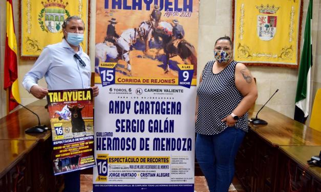 Talayuela recupera en agosto los toros que no pudo celebrar en la feria de San Marcos