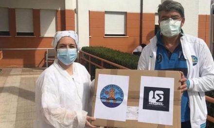 """La campaña """"Por unos sanitarios equipados"""" comienza a marcar goles con Inasona España"""