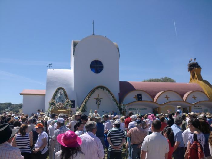 """""""La fe se ha reforzado. Los moralejanos sentimos mucha devoción hacia la Virgen de la Vega"""""""
