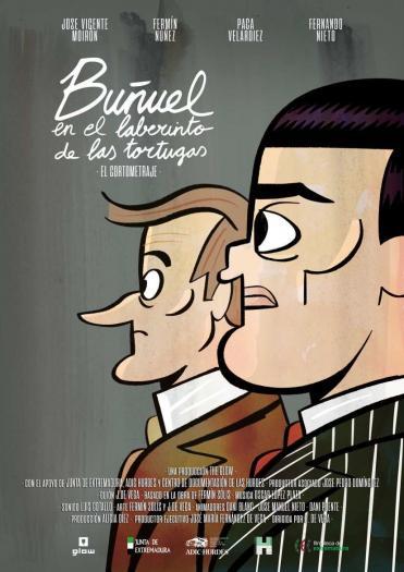 """La plataforma """"Planex en Casa"""" estrena el cortometraje de animación """"Buñuel en el laberinto de las tortugas"""""""