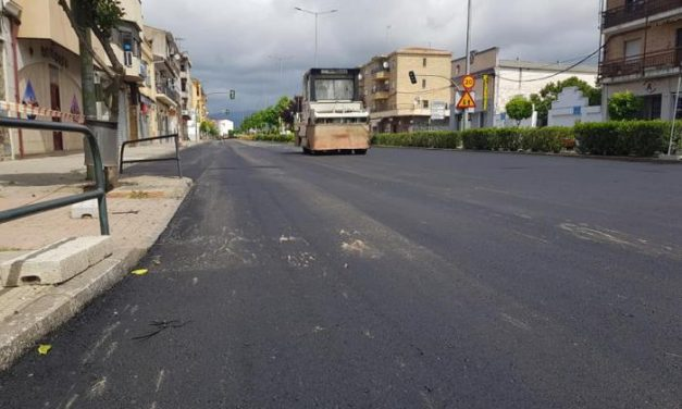Las obras de las avenidas de Moraleja avanzan a pesar del Covid y concluirán antes de lo previsto