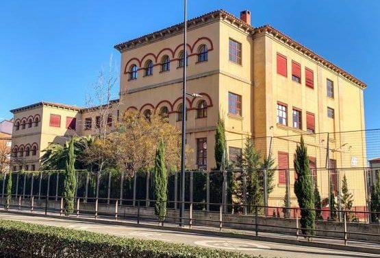 Arrancan las obras del colegio Virgen de Argeme de Coria tras el parón a causa del Covid