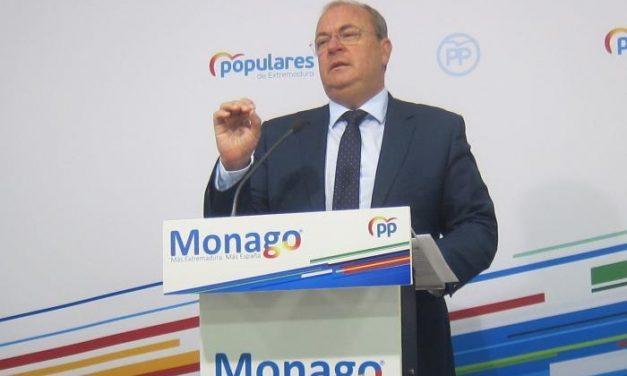 Monago pide la convocatoria urgente de la Comisión Parlamentaria ante la segunda oleada de Covid