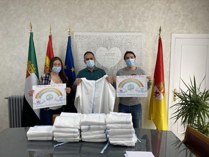 """La campaña """"por unos sanitarios equipados"""" no cesa y continúa protegiendo a los  guerreros del Covid"""
