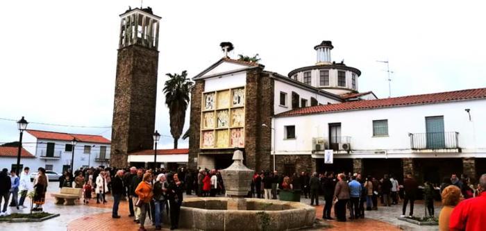 Celebración de San Isidro en La Moheda de Gata: misa para 60 personas, mascarilla, gel desinfectante y distancia