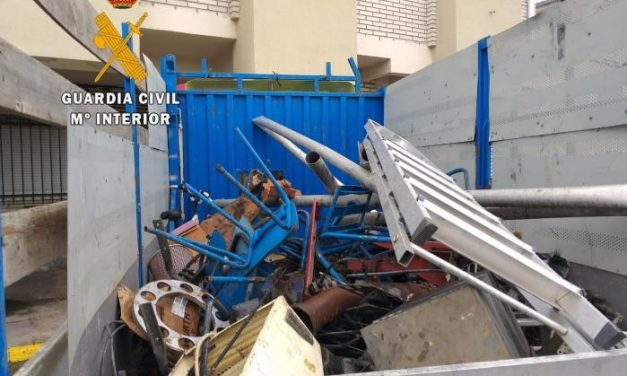 Tres detenidos, uno de ellos menor de edad, por el robo de objetos en un antiguo hotel en Casas de Miravete