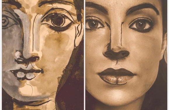 Una moralejana recrea más de una treintena de obras artísticas para combatir la soledad de la cuarentena