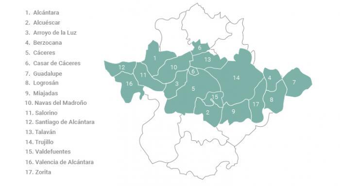 Más de la mitad de los fallecidos por Covid-19 en la región pertenece al área de salud de Cáceres