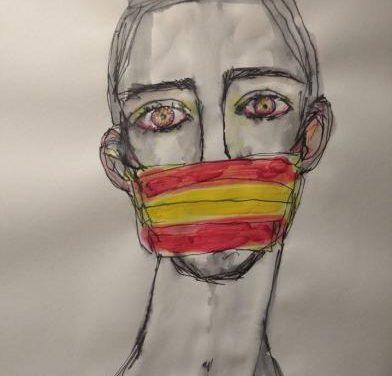 Un vecino de Hoyos vende sus cuadros y destina el dinero a Cáritas para ayudar a los más desfavorecidos
