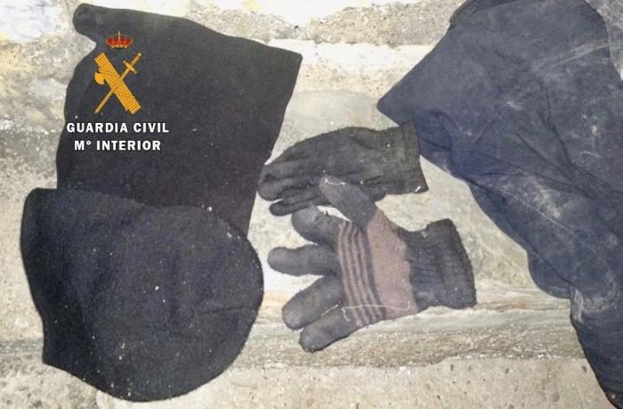 La Guardia Civil sorprende a un ladrón de 52 años en el interior de una vivienda en Cilleros
