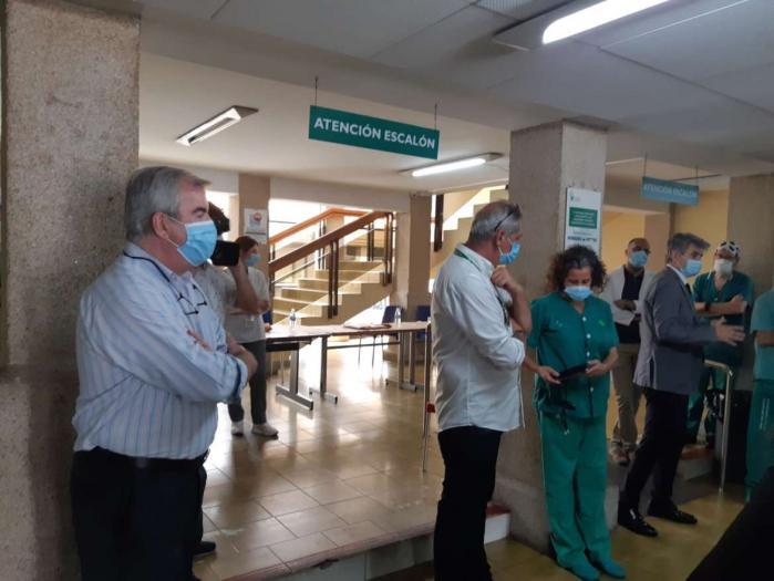 El Hospital Virgen de la Montaña cesa su actividad asistencial pero sigue operativo en la desescalada