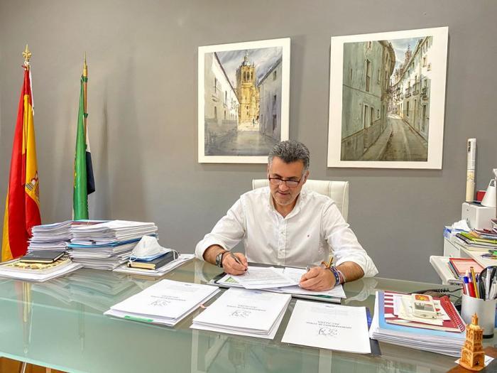 Ballestero califica los nueve años de mandato en Coria como apasionantes y cargados de responsabilidad