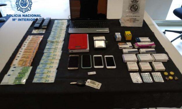 La policía desarticula un grupo dedicado al tráfico de drogas y detiene a cinco hombres en Plasencia
