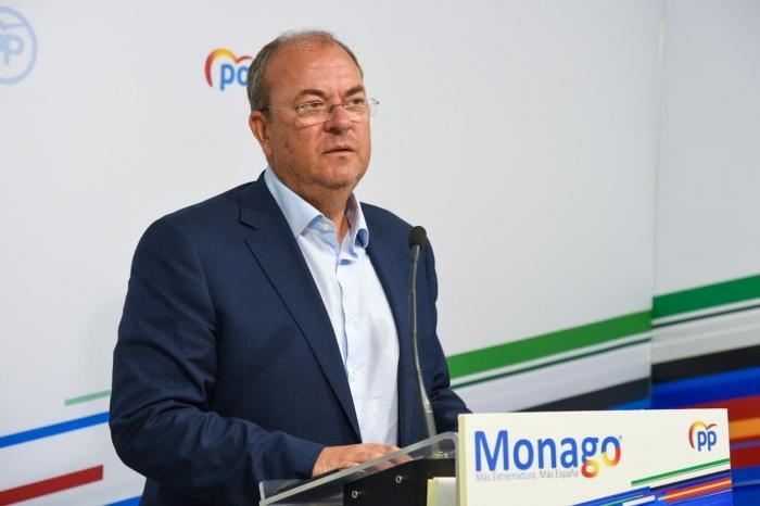 Monago rechaza el recorte de la PAC y pide a la Junta que de la cara por los afectados