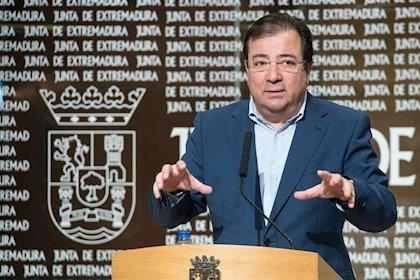 Extremadura pide pasar a la fase 3 y renuncia a salir del estado de alarma antes del 22 de junio