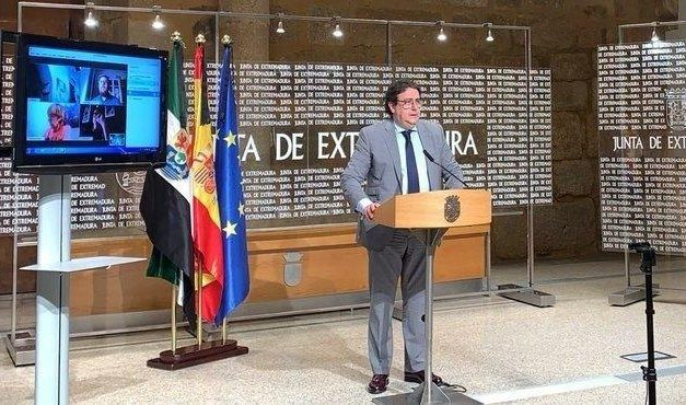 Extremadura envía al Ministerio de Sanidad la solicitud de pasar a la fase 3 de desescalada el 8 de junio