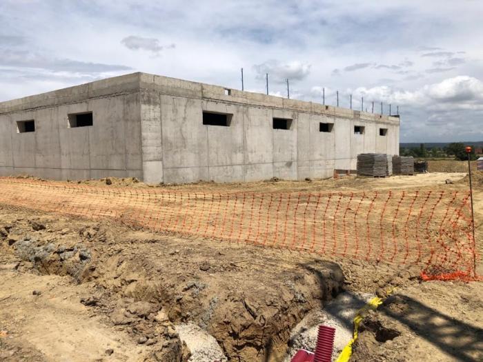 El consistorio estima que las obras del depósito de agua de Moraleja finalicen el próximo mes