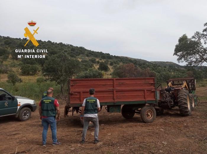 Detenido un vecino de Moraleja y otro de Torrejoncillo por robos en explotaciones agroganaderas