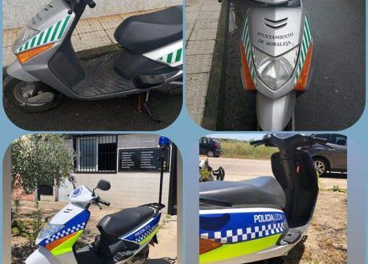 Moraleja invierte más de 1.000 euros en la mejora de dos vehículos de la Policía Local
